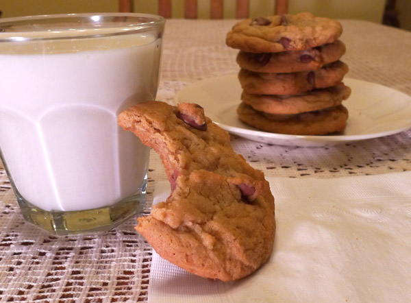 My favorite: Chocolate Chip Cookies